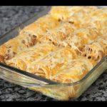 Блины с курицей и сыром в соусе, пошаговый рецепт с фото
