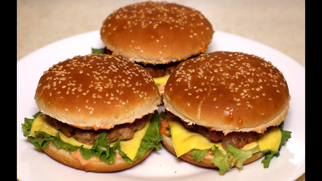 Бургер 666 пошаговый рецепт с фото