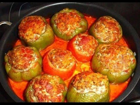 Как приготовить фаршированный болгарский перец