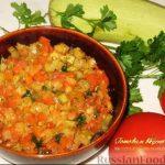 Кабачковая икра, пошаговый рецепт с фото