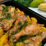 Картофель с курицей в духовке, рецепт с фото на Рецепты-Хозяйки.рф