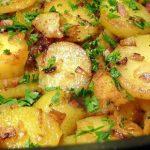 Как приготовить вкусный жареный картофель