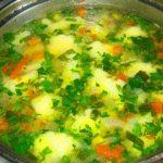 Клёцки для супа рецепт приготовления с фото