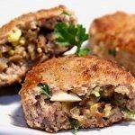 Котлеты с грибами и луком, пошаговый рецепт с фото