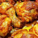 Куриные голени и окорока в духовке, пошаговый кулинарный рецепт с фото