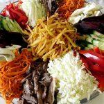 Летний освежающий салат, рецепт с фото