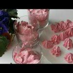 Мусс из малины, пошаговый рецепт с фото