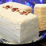 Новогодние рецепты - Молочный десерт «Снежная королева»