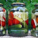 Овощное ассорти на зиму, пошаговый рецепт с фото