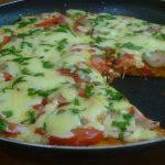 Простой пошаговый рецепт приготовления быстрой пиццы