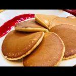 Пышные блинчики-панкейки, пошаговый кулинарный рецепт с фото