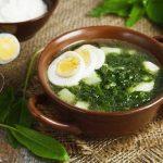 Зеленые щи с щавелем - пошаговый рецепт с фото и видео