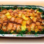Рецепт запеченной кефали с картошкой