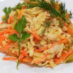 Салат из куриного филе и корейской морковки, рецепт с фото на Рецепты-хозяйки.рф