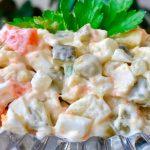 Салат «Оливье», пошаговый рецепт с фото