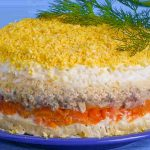 Салат Мимоза, пошаговый рецепт с фото