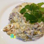 Салат с груздями, пошаговый рецепт с фото