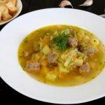 Щи из свежей капусты с фрикадельками, пошаговый рецепт с фото
