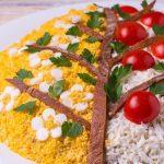 Вкусный весенний салат, пошаговый рецепт с фото