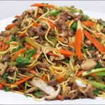 Как приготовить восточный салат из лапши