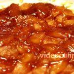 Яблочный пирог с карамелью, пошаговый рецепт с фото