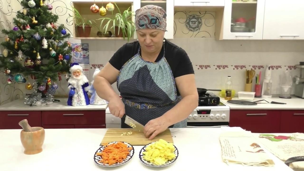 Жареный картофель с паприкой и морковью - Пошаговый рецепт с фото